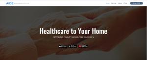 AIDE online Medicine delivery app