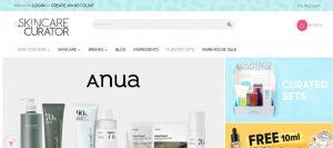 Kin care curator - Skin Care products