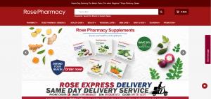 Rose Pharmacy Online drugstore manila