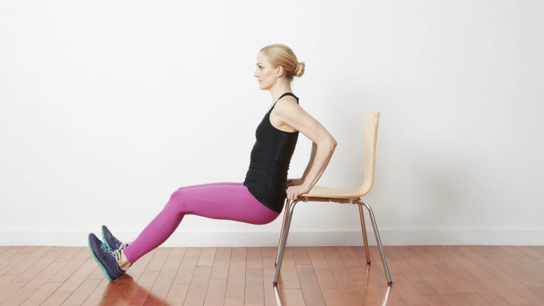 chair dips physical activity during pandemic