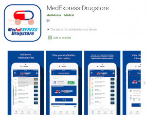Pharmacy App medexpress near me