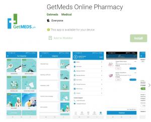 getmeds online Medicine delivery app