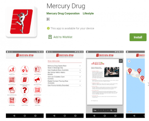 mercury drug store Online Medicine Ordering App