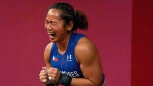 Weightlifter Diaz Wins