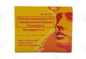 Decolgen Forte medicine