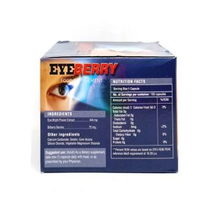 eyeberry medicine