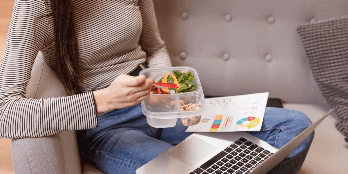 Include these healthy foods to eat while you work from home