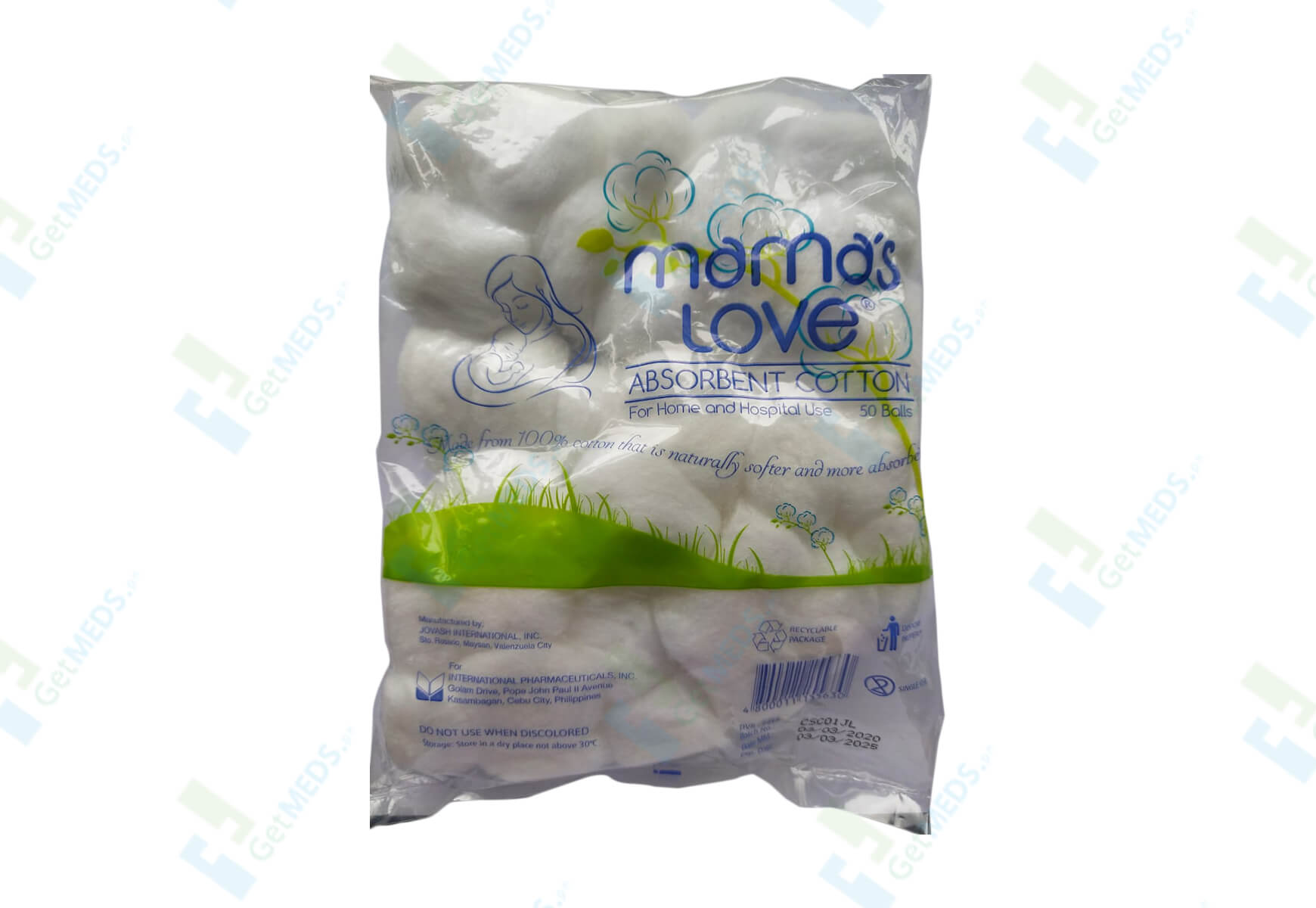 Mama's Love Absorbent Cotton Balls