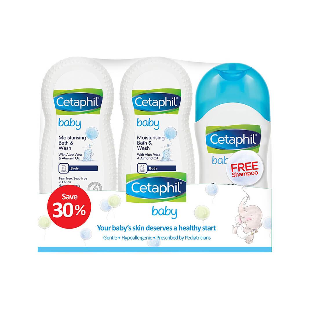 Cetaphil Baby Bodywash and Shampoo