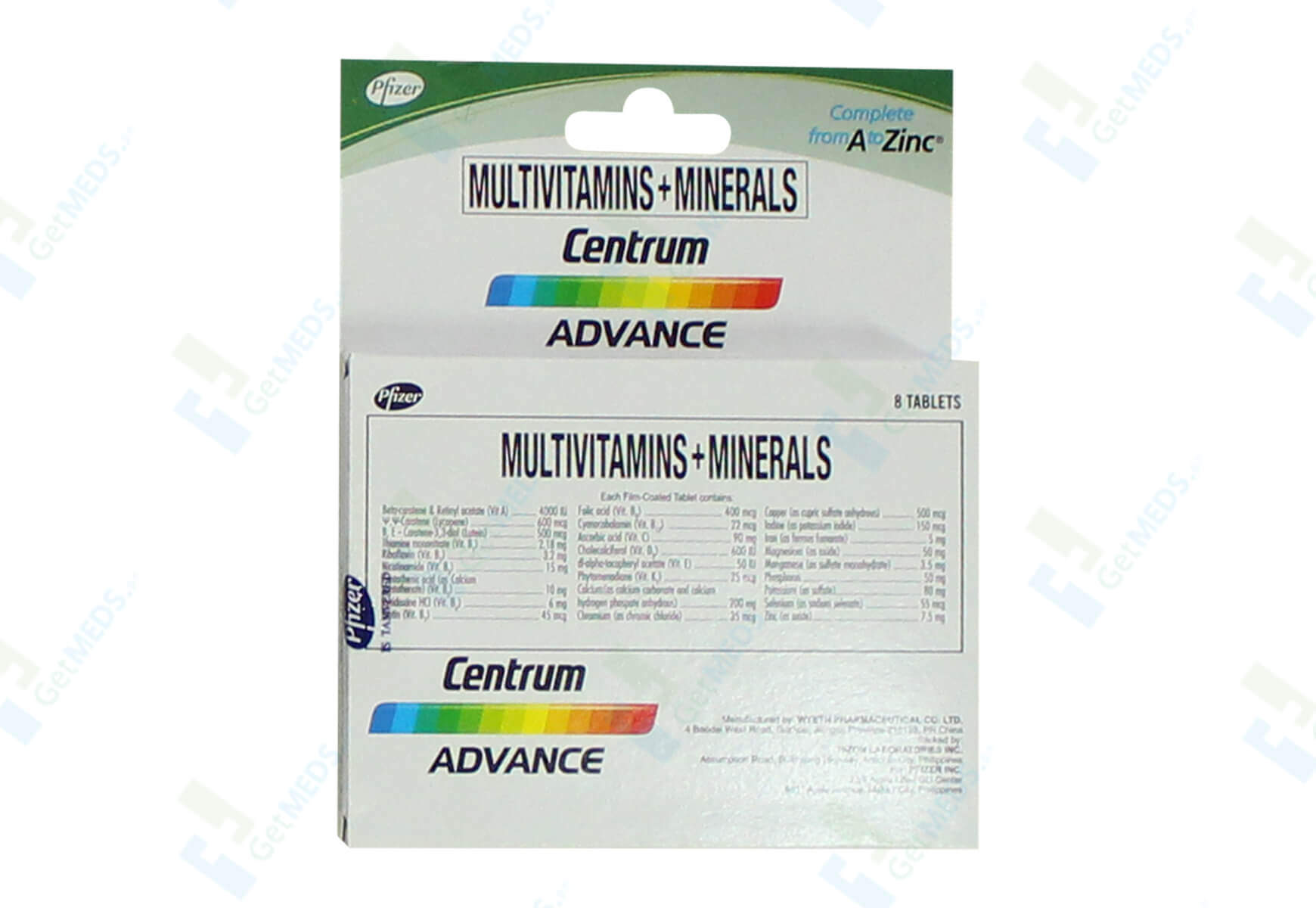 Centrum Advance 8's