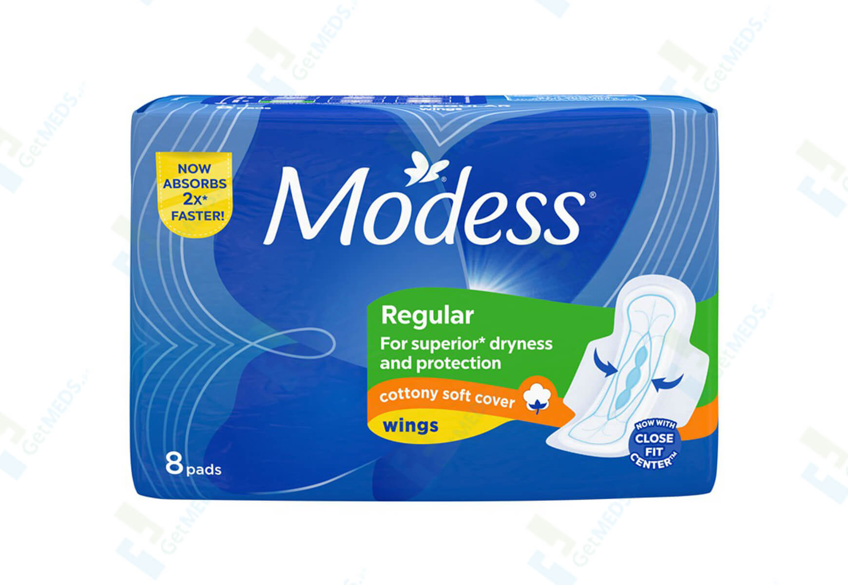 Modess Regular with Wings