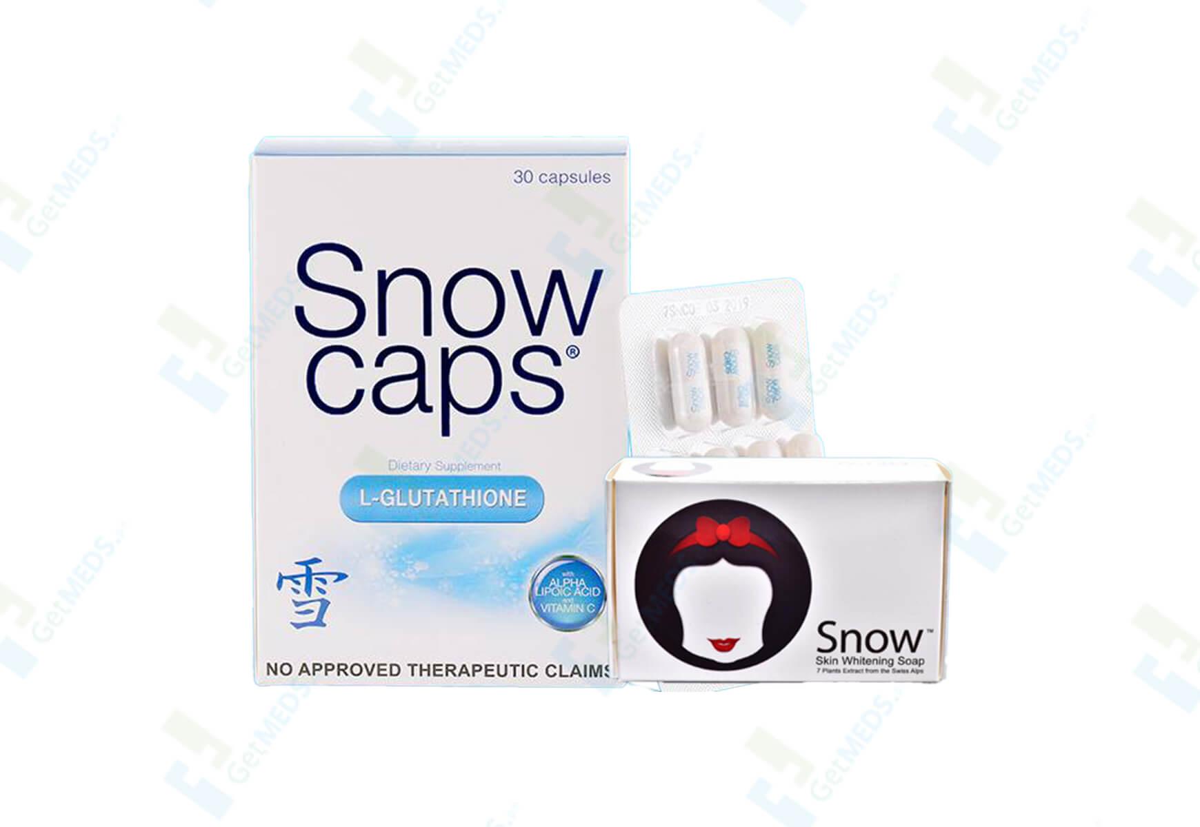 Snow Caps 30's with Free Snow Soap