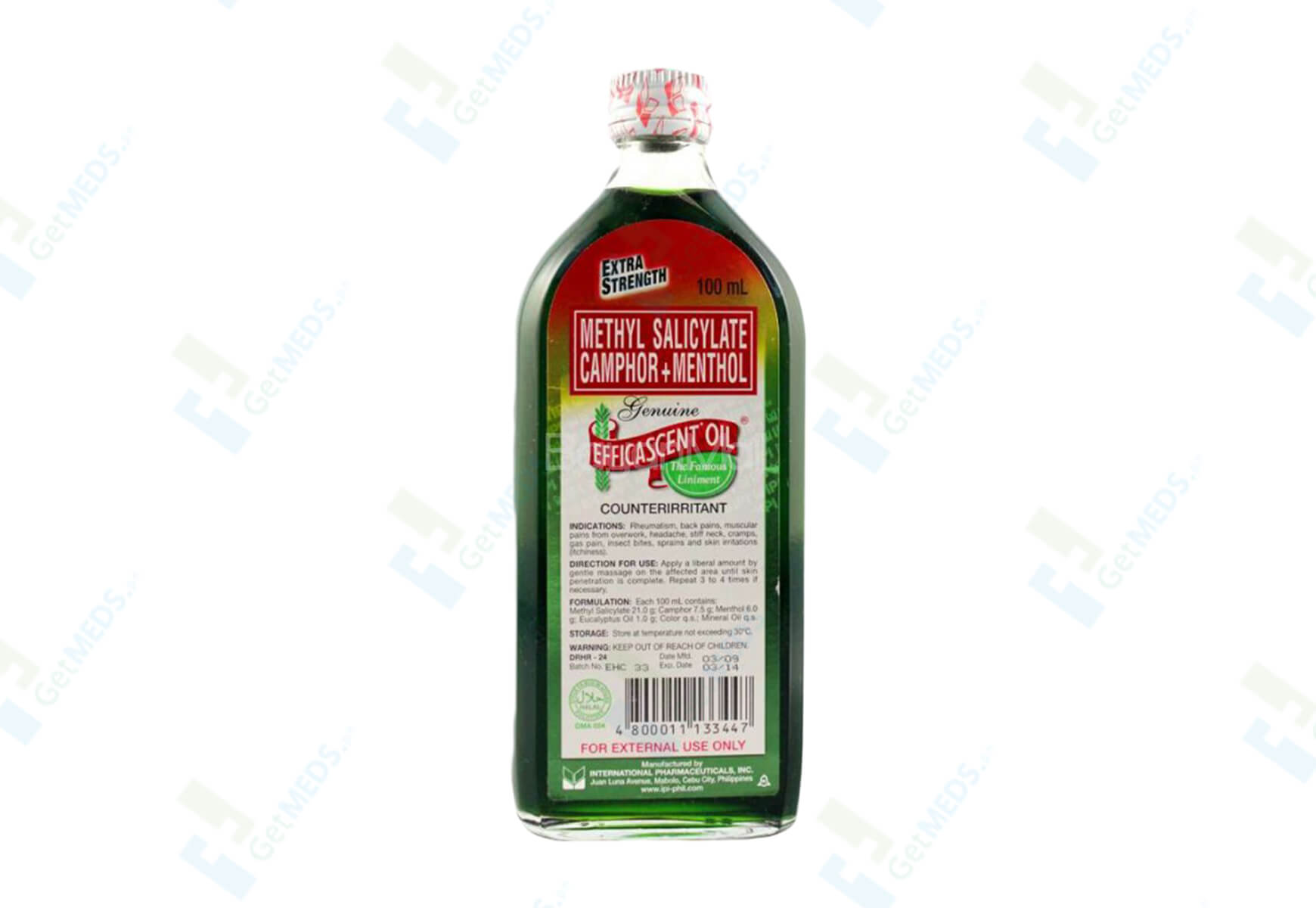 Efficascent Oil Extra Strength