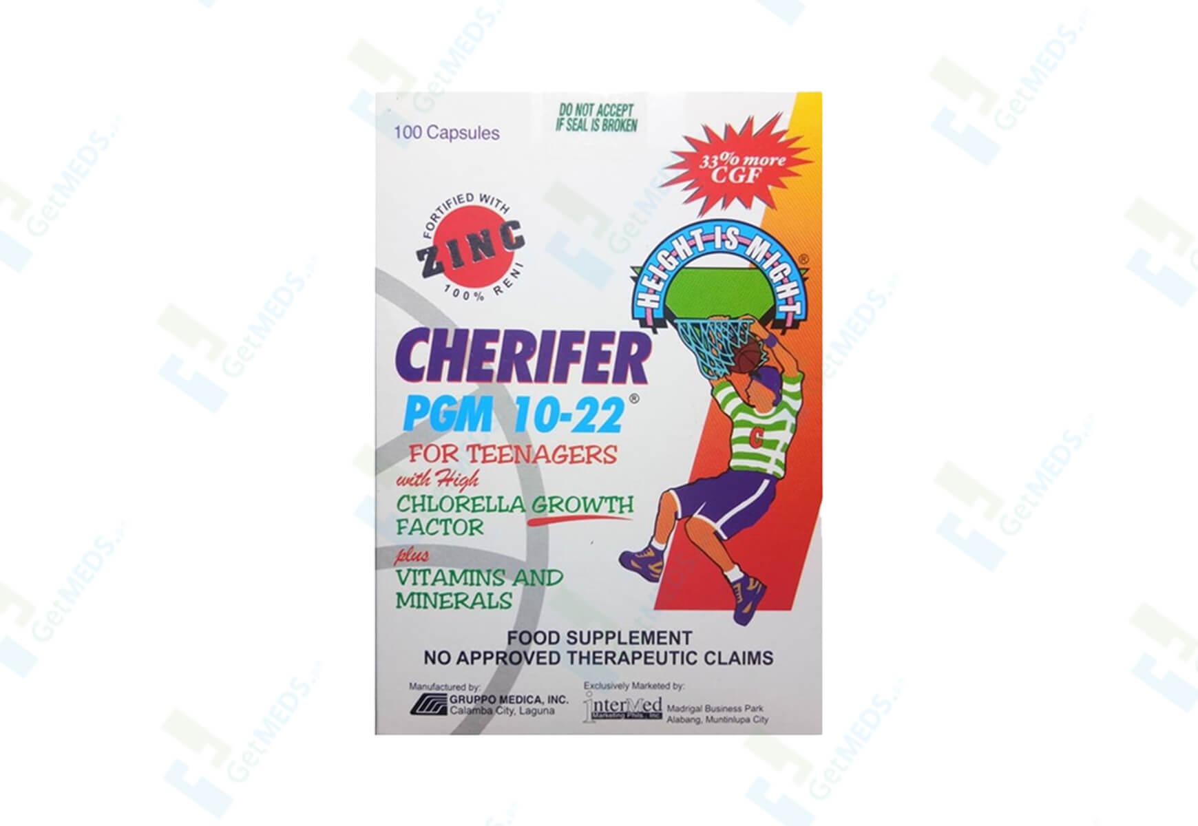 Cherifer PGM with Zinc