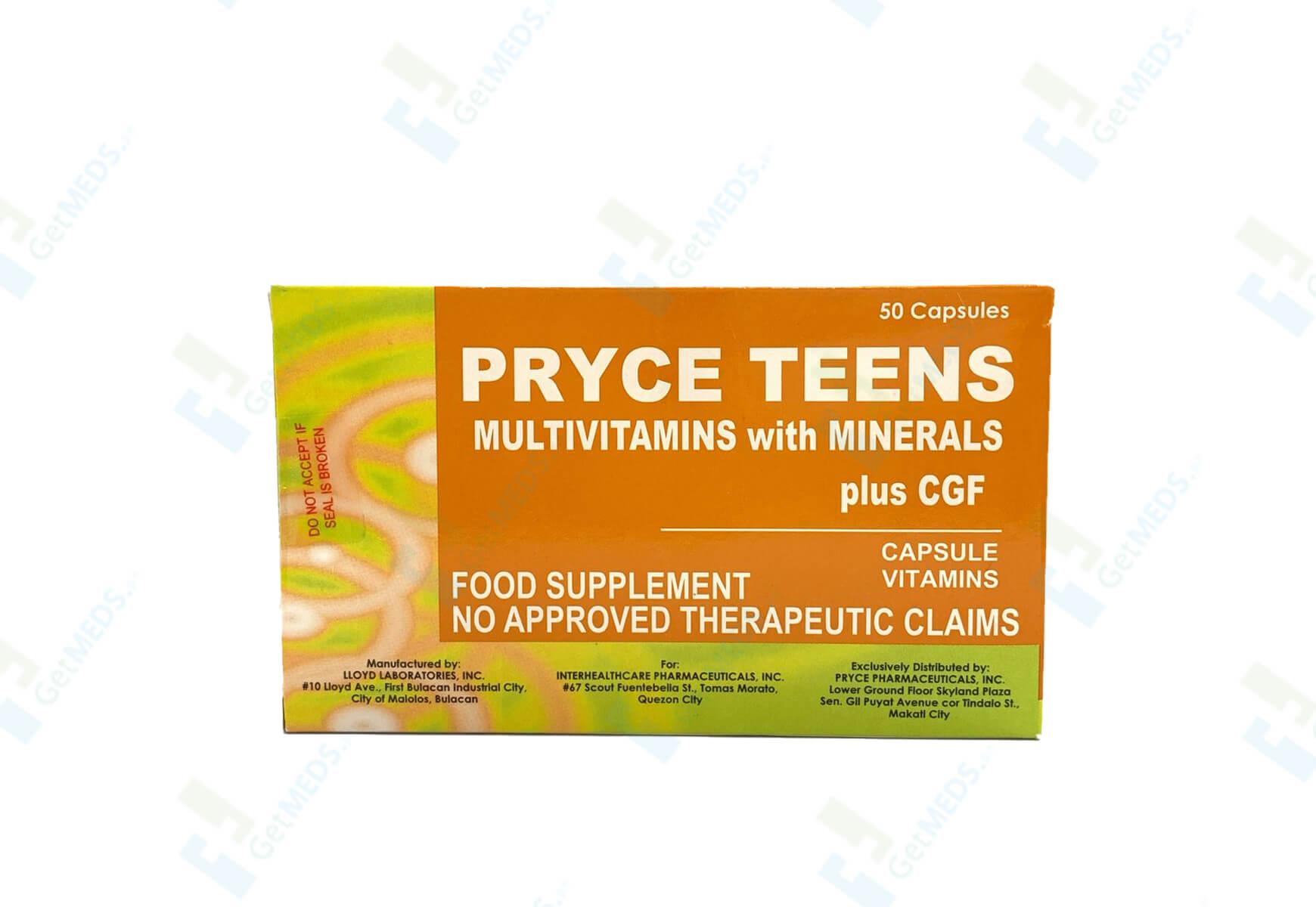 Pryce Teens