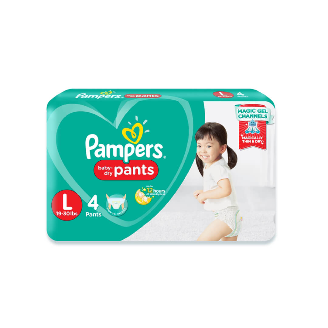Pampers Baby Dry Large